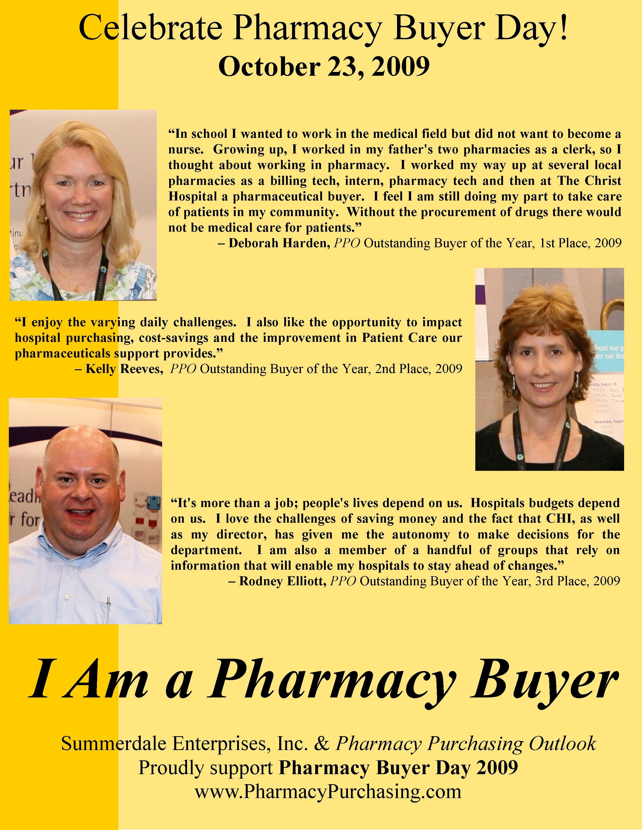 2009 Pharmacy Buyer Day Poster